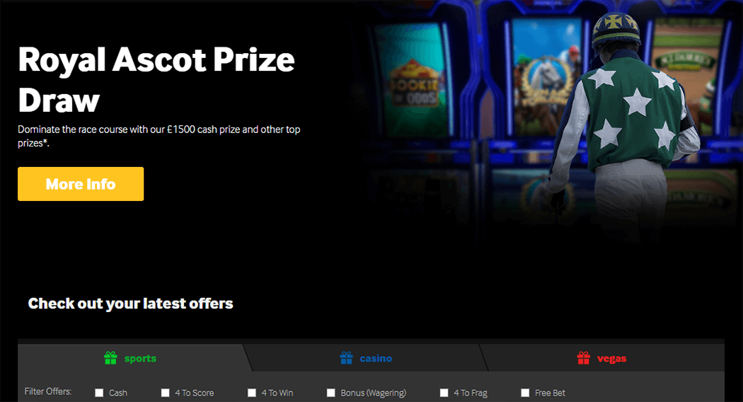 A great Betway Sports promotion